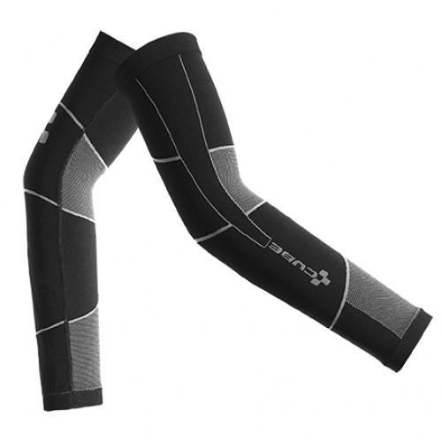 Arm warmers Cube 3D-Knit - Black 'n' Grey