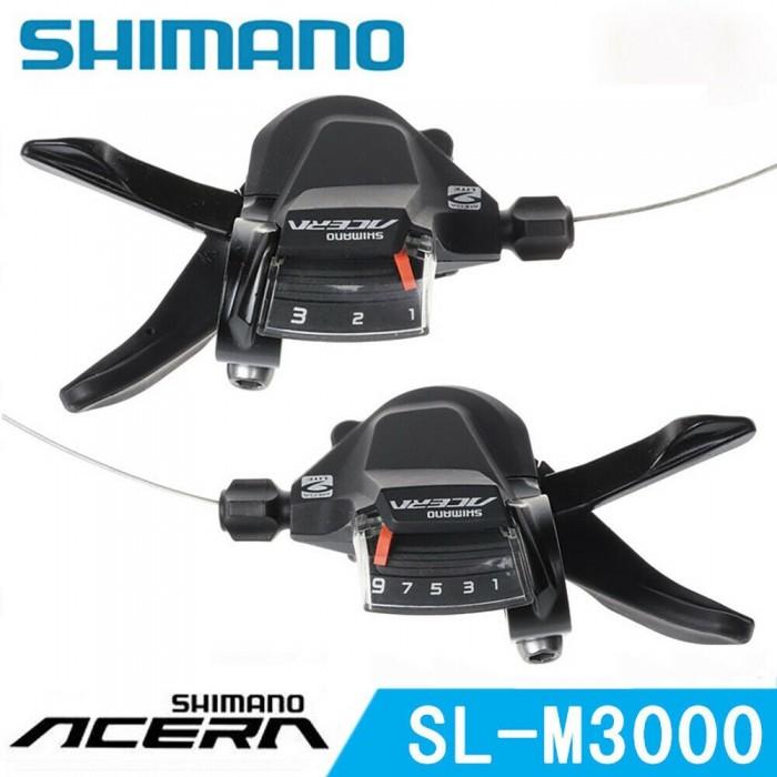ΣΕΤ ΛΕΒΙΕ ΤΑΧΥΤΗΤΩΝ SHIMANO ACERA SL-M3000 (L+R) 3X9SP