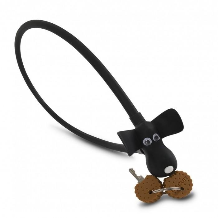 """Κλειδαριά RFR Cable Lock HPS """"DOG"""" Black - 13319"""