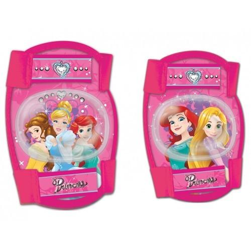 Σετ προστατευτικών αξεσουάρ για παιδιά Disney Princess (Επιαγκωνίδες - Επιγονατίδες)