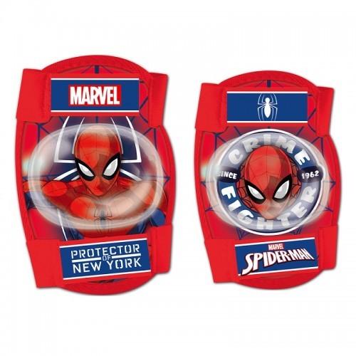 Σετ προστατευτικών αξεσουάρ για παιδιά Disney Spiderman (Επιαγκωνίδες - Επιγονατίδες)