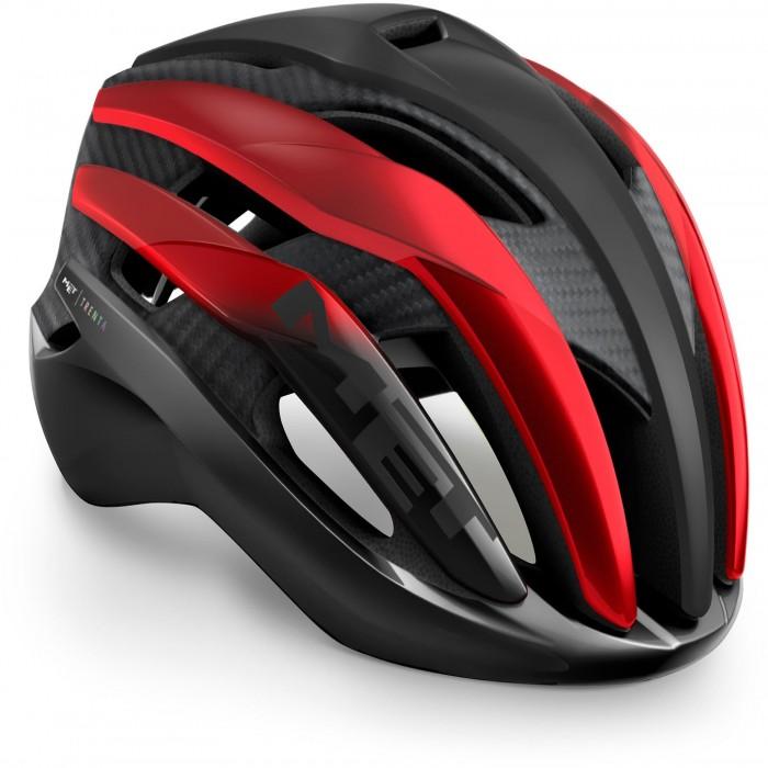 Κράνος MET Trenta 3K Carbon Black Red Metallic/Matt Glossy