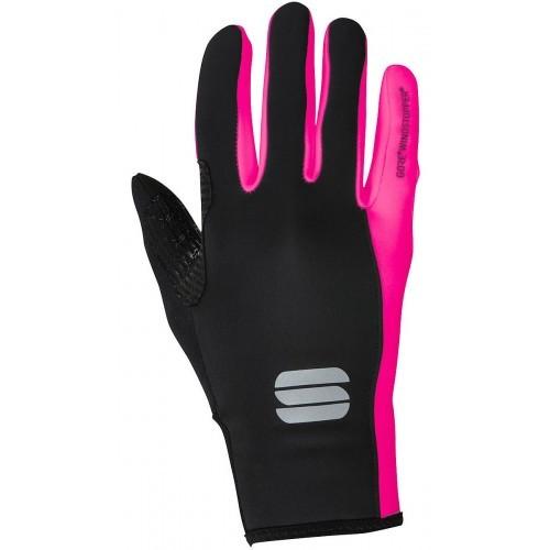 Γάντια Sportful Windstopper ESSENTIAL 2 W - Black/Pink