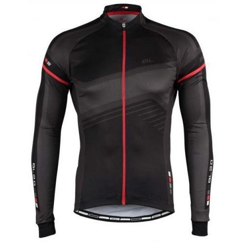 Μπλούζα με μακρύ μανίκι Bicycle Line. Dallas Μαύρη