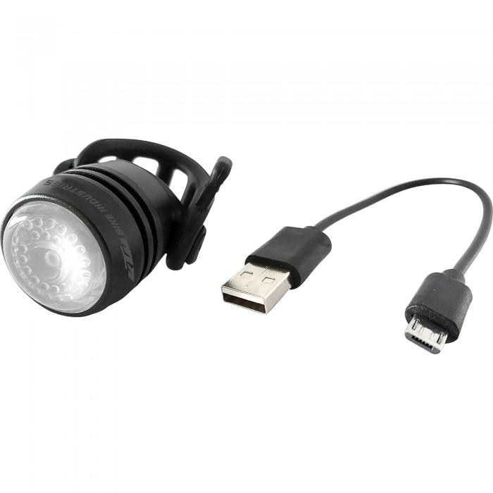 ΦΑΝΑΡΙ KTM FRONT LED ΕΠΑΝ/ΝΟ USB BLACK